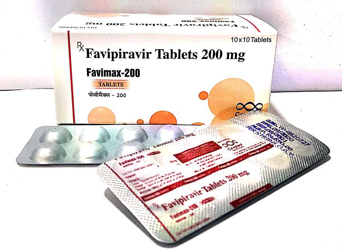 200 mg Favipiravir