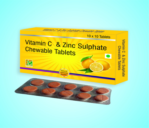 Vitamin C With Zinc Sulphate Tablet