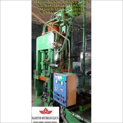 Fully Automatic Hydraulic Press Machine