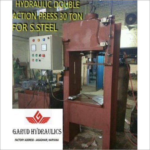 30 Tons Double Action Hydraulic Press Machine