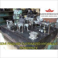 1000L Semi Finished Hydraulic Power Pack