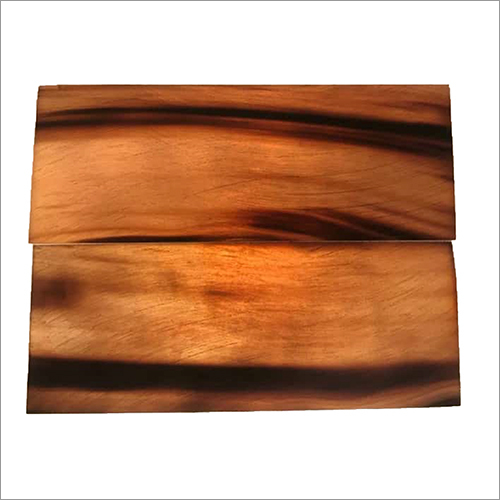 Light Brown Color Buffalo Horn Plate