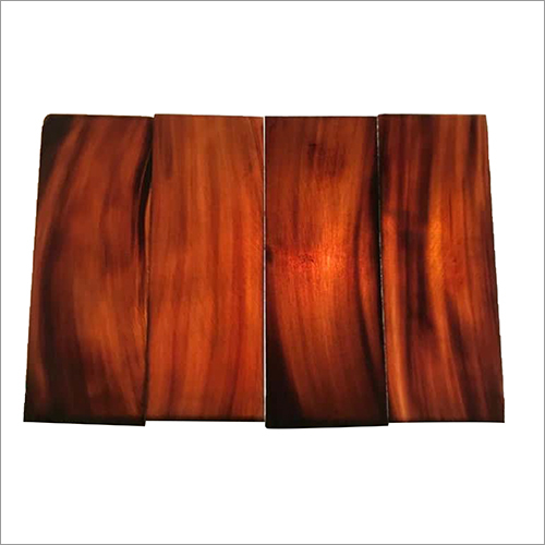 Medium Brown Buffalo Horn Plate