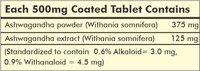 Herbal Hills Ashwagandha 60 Tablets