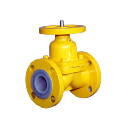 PFA - FEP Double Flanged Valve