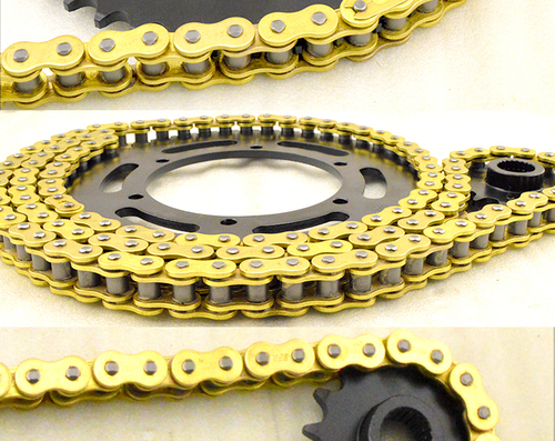 motorcycle chain and sprocket kit OEM motorcycle chain and sprocket sets for bajaj discover 135 150