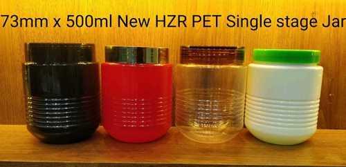 500ml Hzr Pet Cosmetic Jar