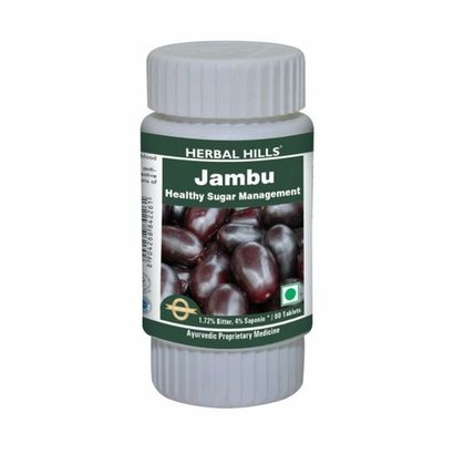 Herbal Hills Jambu/ Jamun 60 Tablets Age Group: Suitable For All