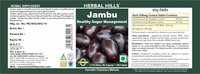Herbal Hills Jambu/ Jamun 60 Tablets