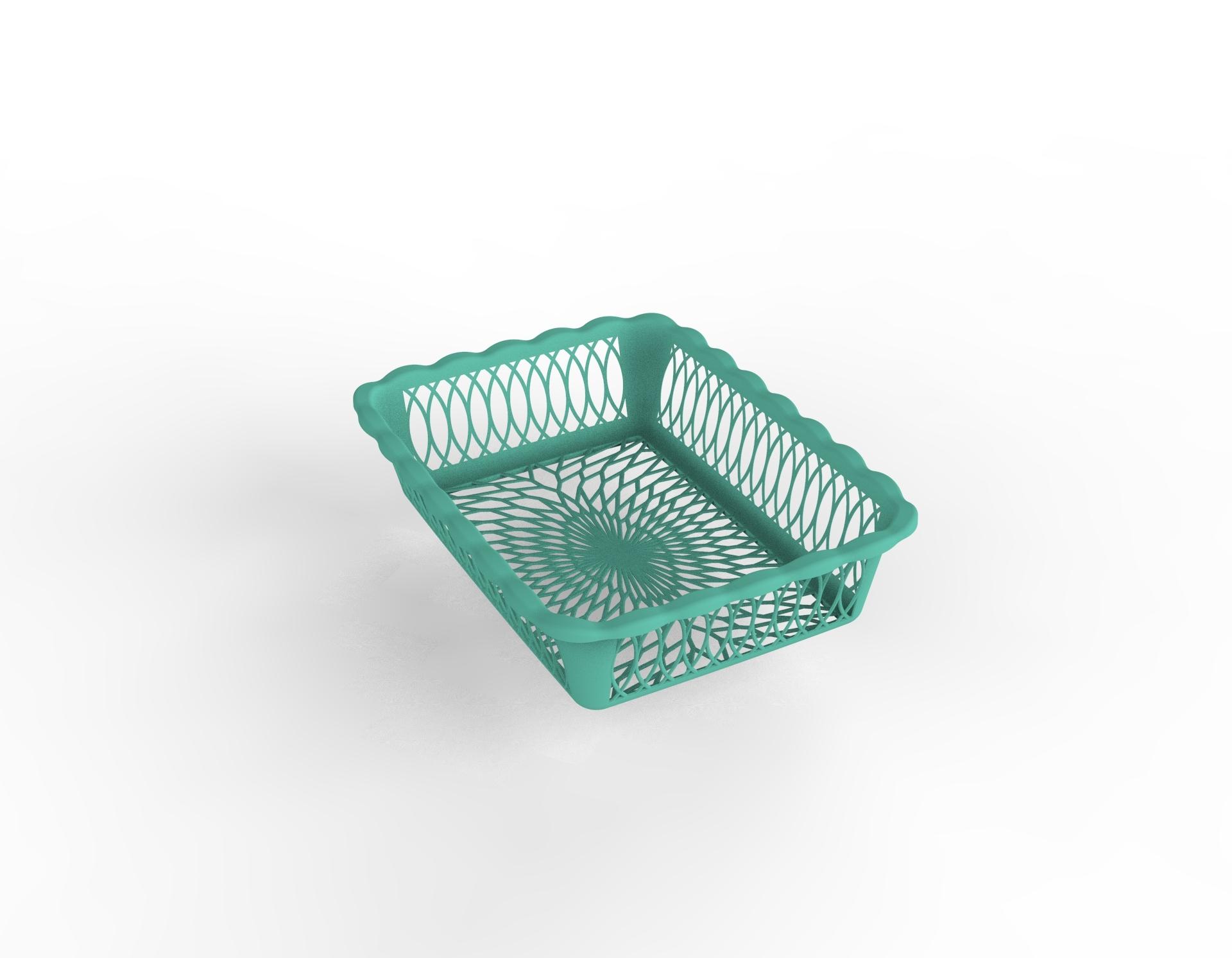 Washing Basket Plastic Mold