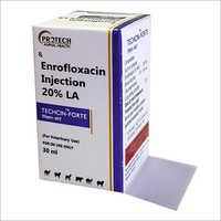 20 Percent LA Enrofloxacin Injection