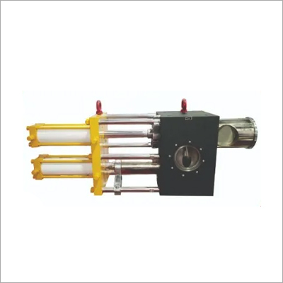 Twin Piston Type Screen Changer Filtering With Round Breaker Plates