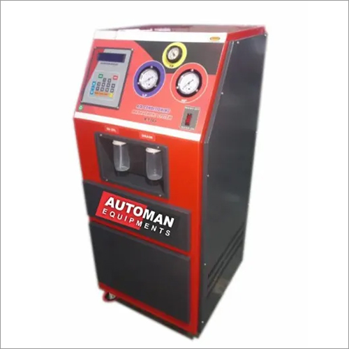 Fully Automatic Car AC Recharge Machine