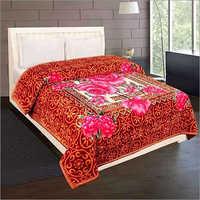 Shilay Rose Soft Mink Blanket Bordered Rose