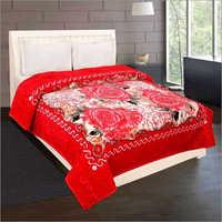 Shilay Red Roses Soft Mink Blanket