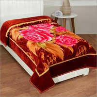 Shilay Rose Soft Mink Blanket Bordered