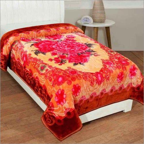 Shilay Rose Love Floral Soft Mink Blanket