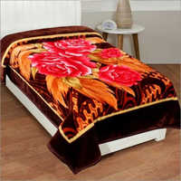 Shilay Red-Yellow Floral Soft Mink Blanket
