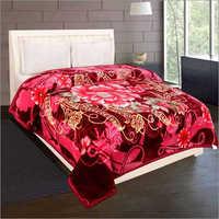 Shilay Pink Single Rose Soft Mink Blanket
