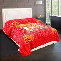 Shilay Red Yellow Floral Soft Mink Blanket