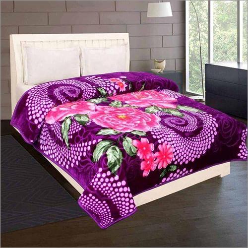 Shilay Purple Pink Soft Mink Blanket