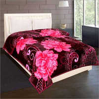Shilay Purple Rose Soft Mink Blanket