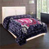 Shilay Navy Soft Mink Blanket