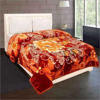 Shilay Yellow Orange Soft Mink Blanket