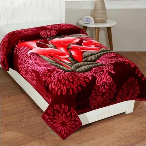 Shilay Tulip Floral Soft Mink Blanket
