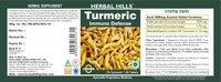 Herbal Hills Turmeric 60 Turmeric/ Curcuma/Curcuma longa -500 mg