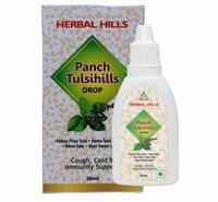 Herbal Hills Panch Tulsi Hills 30ml Drops-cough & Cold, Immunity Booster