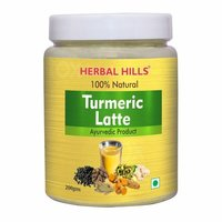 Herbal Hills 100% Natural Golden Turmeric Latte - 200 Gms
