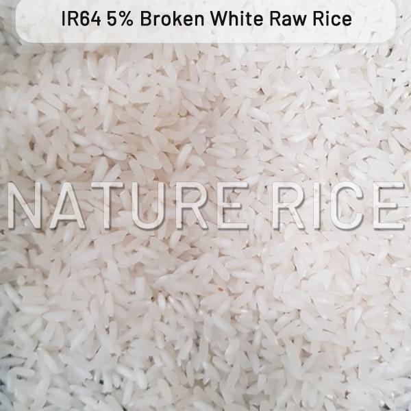IR 64 White Raw Rice 5 Percent Broken