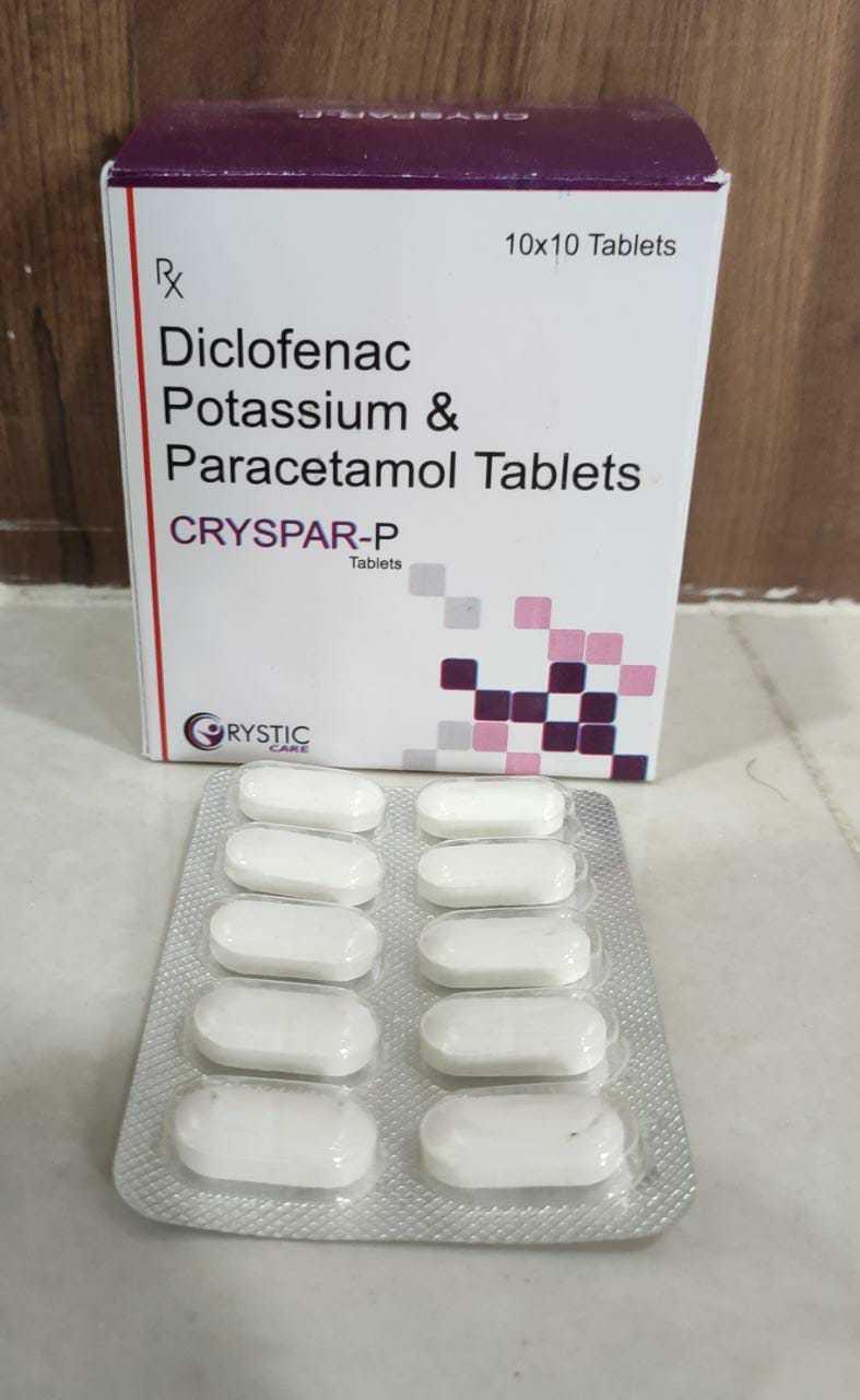 Diclofenac Sodium, Pcm & Chlorzoxazone Tablets
