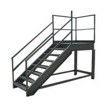 Mild Steel Platform Step Ladders