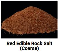 Red Rock Salt Lumps