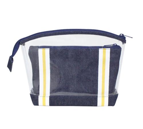 14 Oz Denim Fabric Travel Bag Capacity: 1 -2 Kgs Kg/Hr