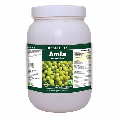 Herbal Hills Amla 700 Tablets Ayurvedic Amla Or Amlaki