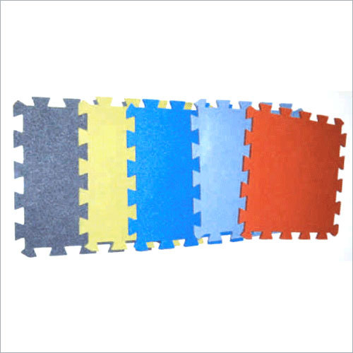 Rubber Interlocking Floor Tile