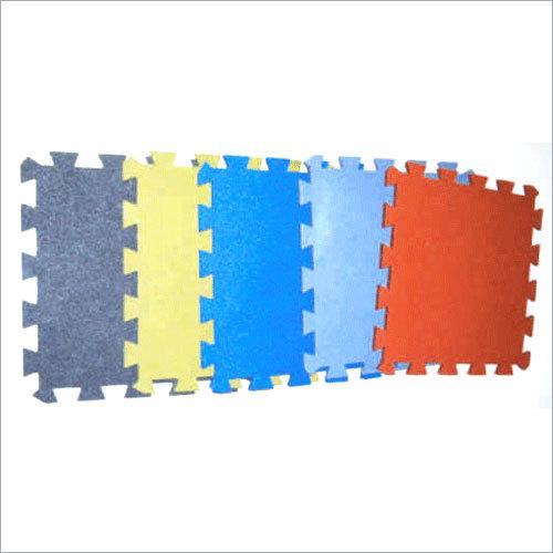 Rubber Interlocking Floor Tile