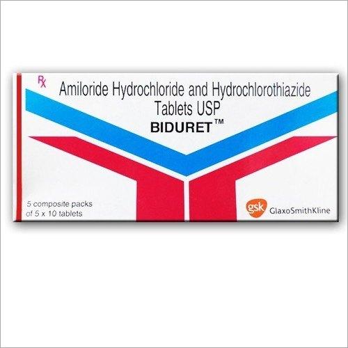 Amiloride Hydrochloride And Hydrochlorothiazide Tablets
