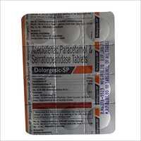 Aceclofenac Parracetamol And Serratiopeotidase Tablets