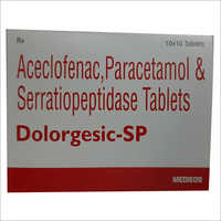 Dolorgesic - SP Aceclofenac And Paracetamol And Serratiopeptidase Tablets
