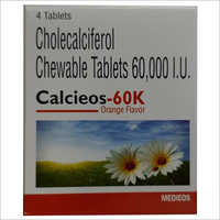 60000 I.U Cholecalciferol Chewable Tablets