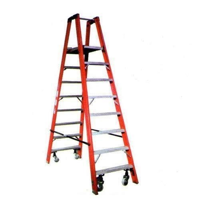 FRP Selfsupport Trestle Ladder With Foldable Platform-6feet (FP3006)