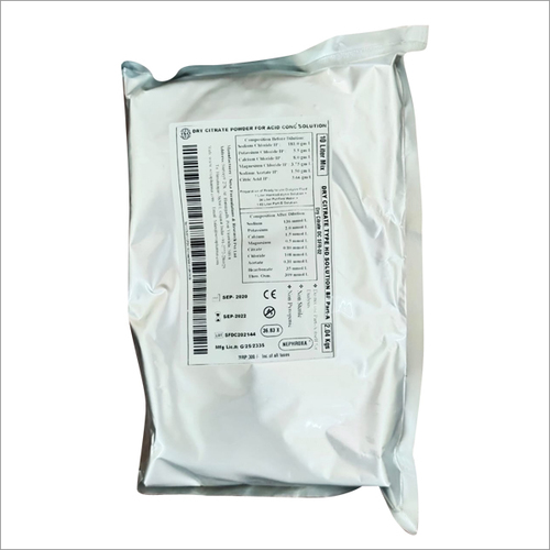 Dry Citrate Type Solution BP