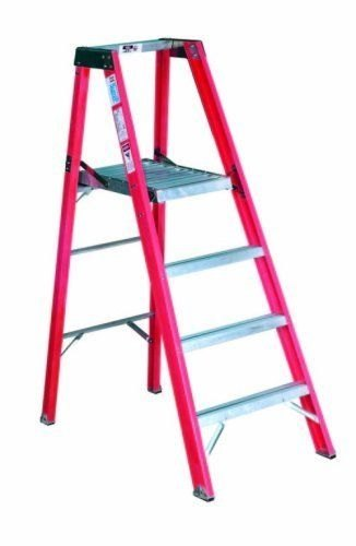 Frp Plateform Step Ladder-8feet (Fp1008)