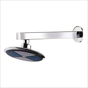 Wall Mounted ABS Round Shower With Wall Flange