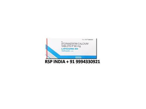 Lipicure 80mg Tablets