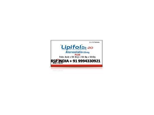Lipifol 20mg Tablets